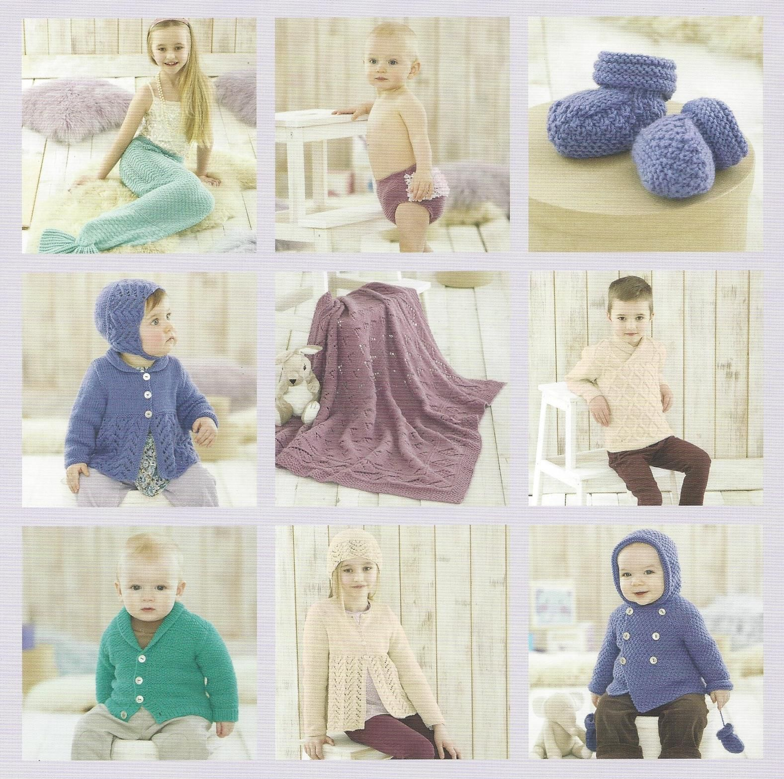 Sirdar Book 507 Snuggly Delights Snuggly Double Knit